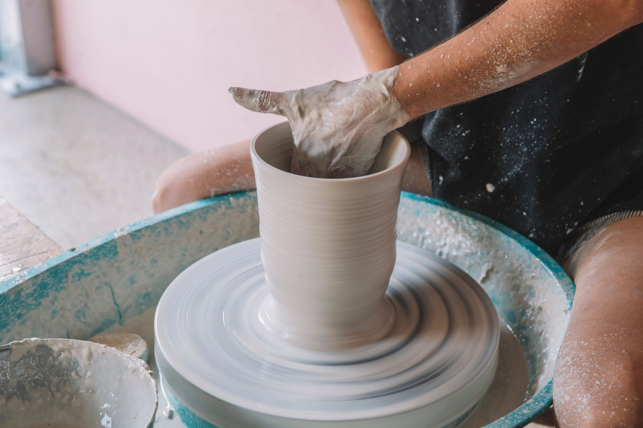 Wheel Throwing The Pottery Studio